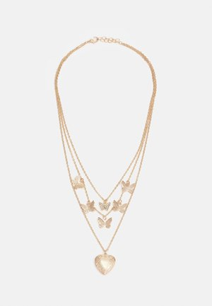 MITTA COMBI NECKLACE - Necklace - gold-coloured
