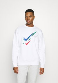 Nike Sportswear - SOS CREW - Sweatshirt - white - 0
