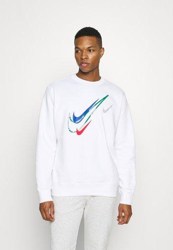 SOS CREW - Sweatshirt - white