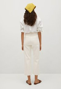 Mango - GABRIELA - Straight leg jeans - ecru - 2