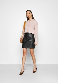 New Look - MINI - A-line skirt - black - 1