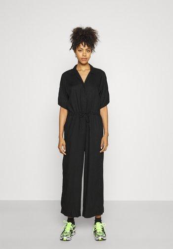 KALOLO - Jumpsuit - black dark solid