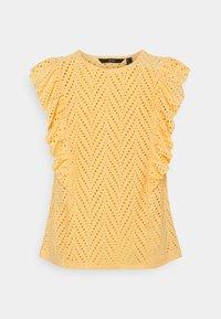 Vero Moda - VMLEAH - Print T-shirt - cornsilk - 0