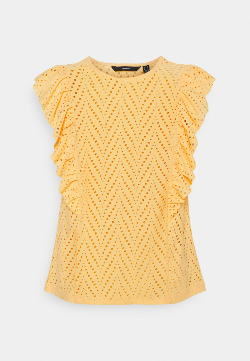 Vero Moda - VMLEAH - Print T-shirt - cornsilk