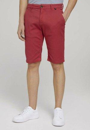 Shorts - plain red