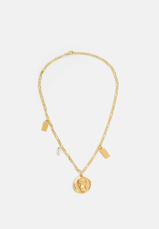 HERMIS SMALL CHOKER - Halskæder - gold-coloured
