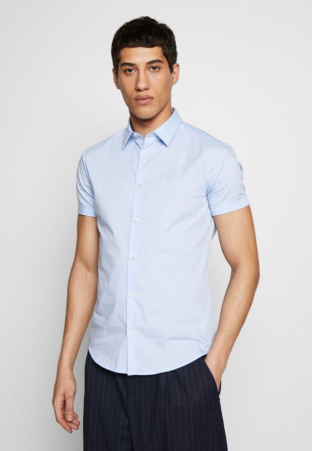 CAMICIA TESSUTO - Koszula - azzurro