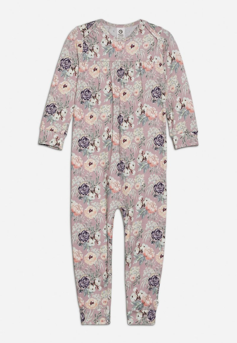 Müsli by GREEN COTTON - SPICY BLOOM BODYSUIT BABY - Overall / Jumpsuit /Buksedragter - rose