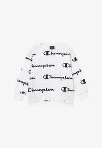 Champion - LEGACY AMERICAN CLASSICS - Bluza - white/black - 2
