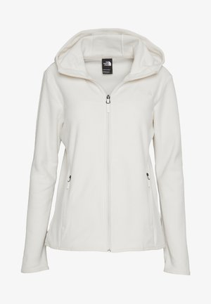 WOMENS GLACIER FULL ZIP HOODIE - Fleecetakki - vintage white