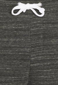 Pier One - Tracksuit bottoms - mottled black - 6