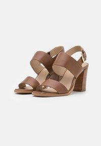Steven New York - LINN - Sandals - cognac - 2