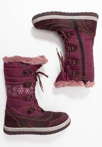 Lurchi - ALPY-TEX - Zimní obuv - aubergine - 0