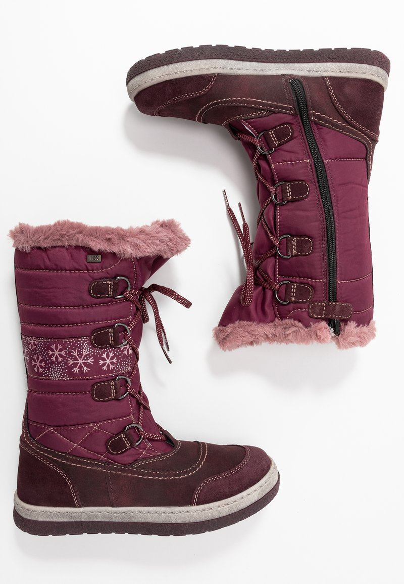 Lurchi - ALPY-TEX - Zimní obuv - aubergine