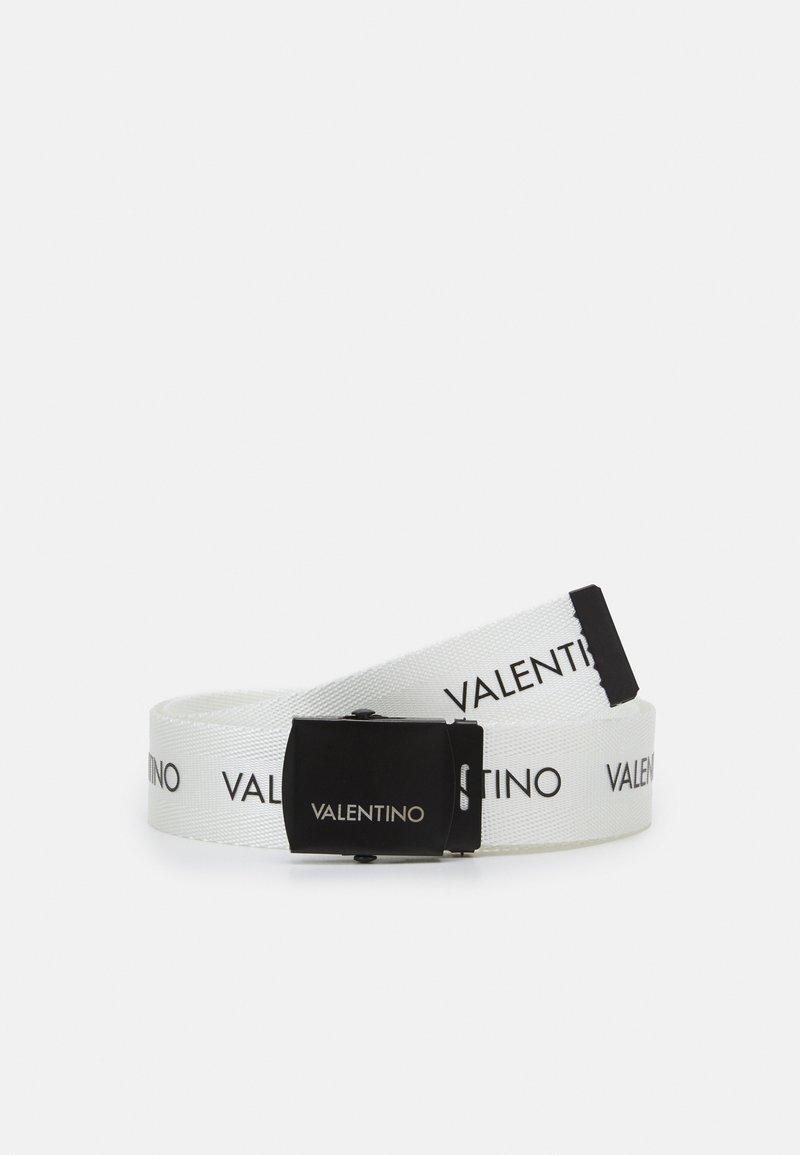 Valentino Bags - BELT - Skärp - bian/nero