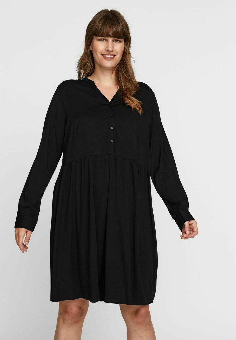 Mujer V-AUSSCHNITT - Vestido camisero