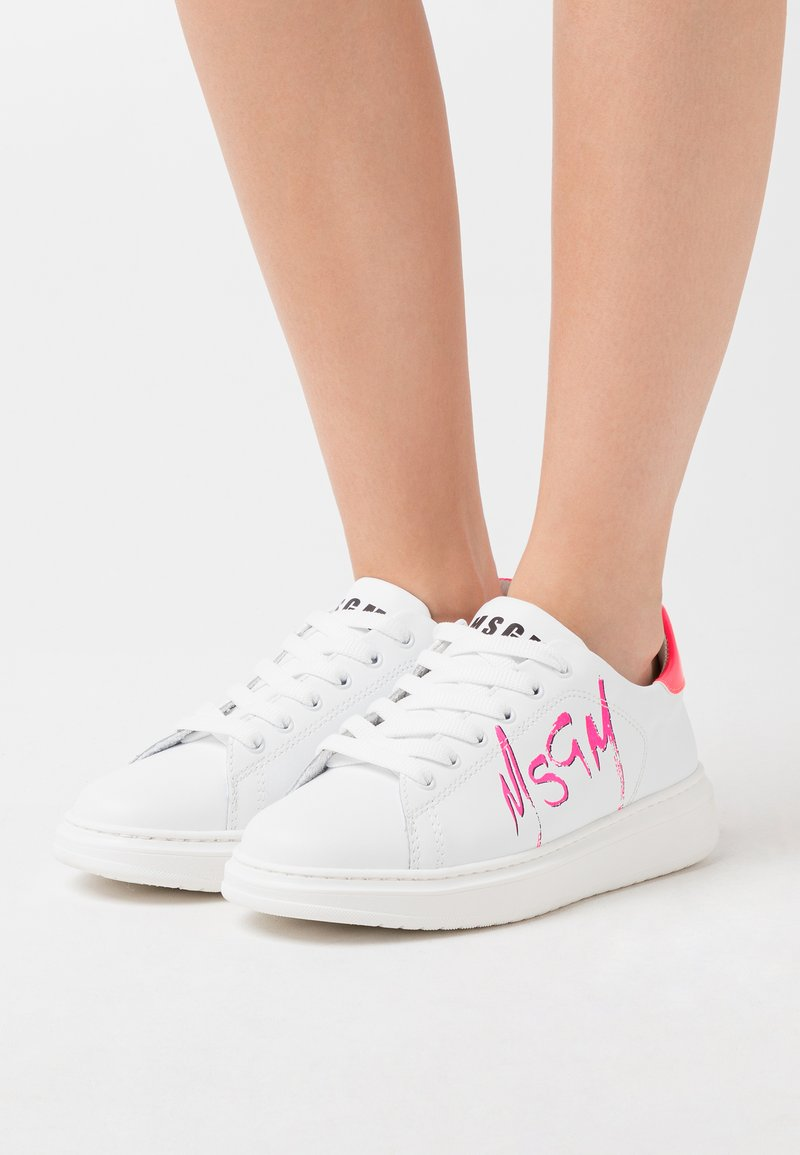 MSGM - SCARPA DONNA WOMANS SHOES - Zapatillas - fucsia/white