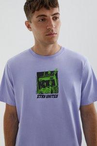 PULL&BEAR - STAY UNITED - Print T-shirt - light pink - 3