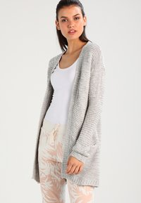 Vero Moda - VMNO NAME - Cardigan - light grey melange - 0