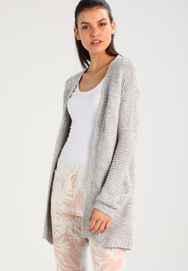 Vero Moda - VMNO NAME - Cardigan - light grey melange