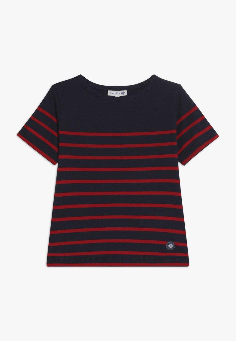 Armor lux - ETEL MARINIÈRE - T-shirt print - navire/braise