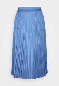 Moss Copenhagen - SENTA SKIRT - A-line skirt - gray blue - 3