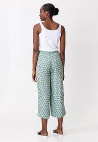 Indiska - Trousers - ltgreen - 2