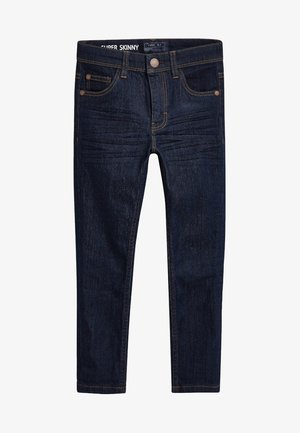Straight leg jeans - blue black denim