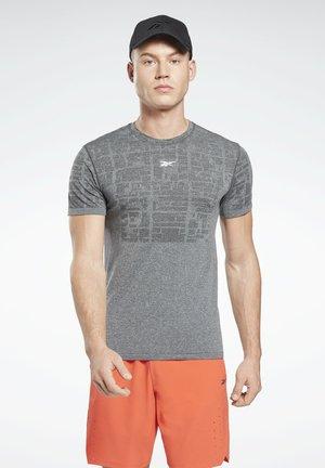 UBF MYOKNIT TEE - Print T-shirt - grey