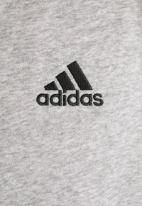 adidas Performance - 3 STRIPES FLEECE FULL ZIP ESSENTIALS SPORTS TRACK JACKET HOODIE - Zip-up sweatshirt - medium grey heather - 6