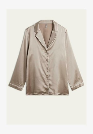 Pyjama top - - i - powder beige