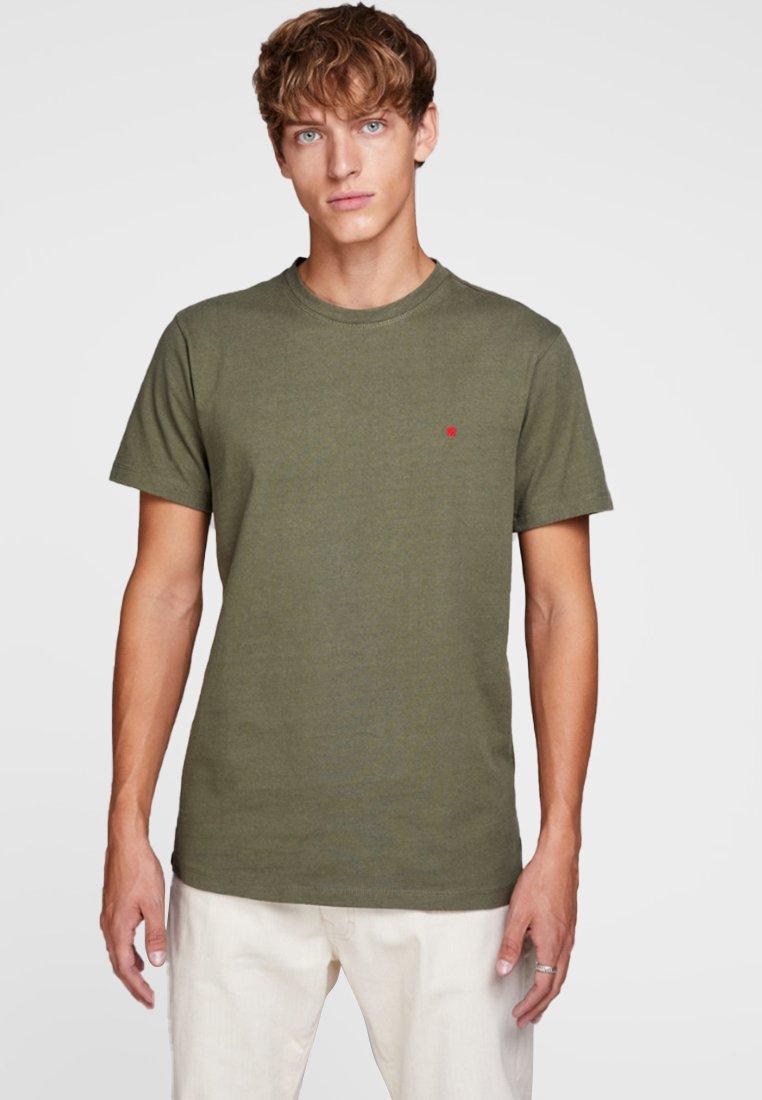 Jack & Jones - HOCHWERTIGES - Basic T-shirt - green