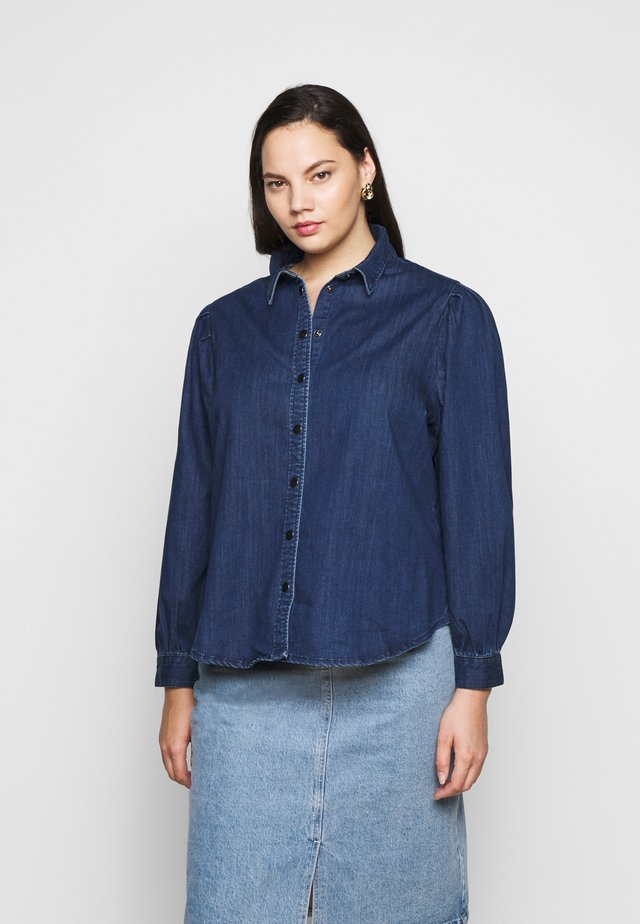 CARNADA LIFE SHIRT - Skjorte - dark blue denim