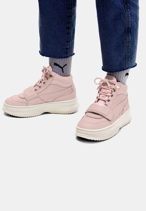 DEVA  - High-top trainers - peachskin-marshmallow