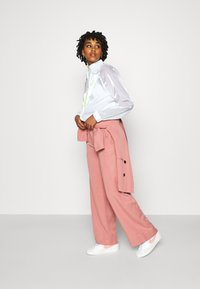 Nike Sportswear - AIR SHEEN - Summer jacket - white/volt - 1