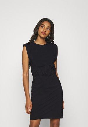 SUZY DRESS - Sukienka z dżerseju - black