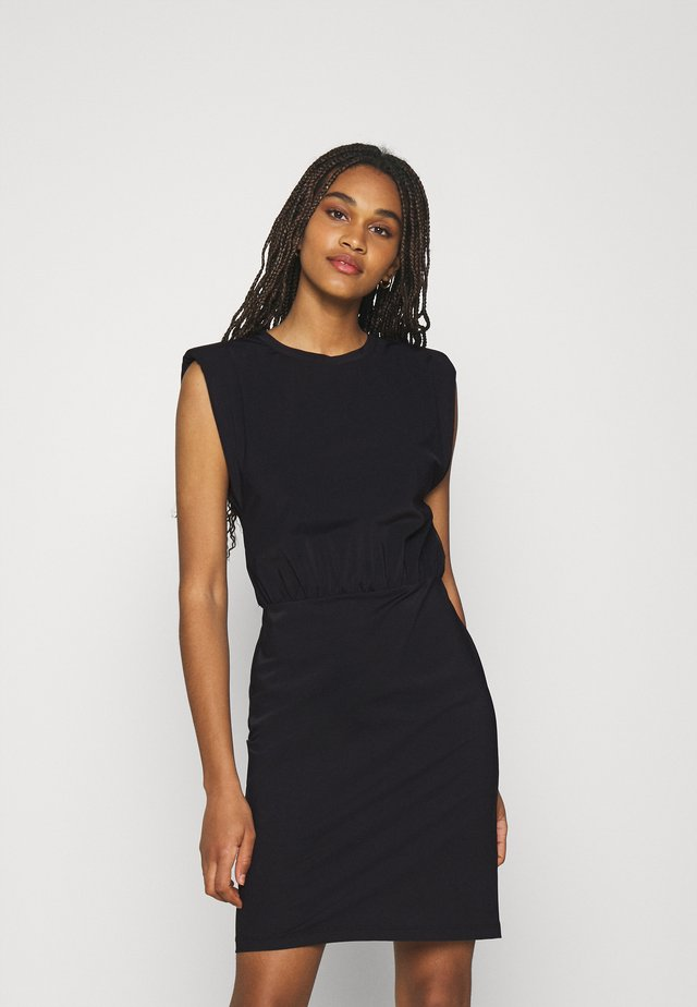 SUZY DRESS - Jersey dress - black