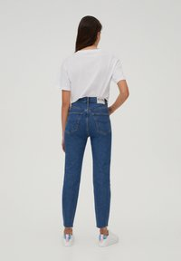 PULL&BEAR - SLIM MOM - Jeans slim fit - dark blue - 2