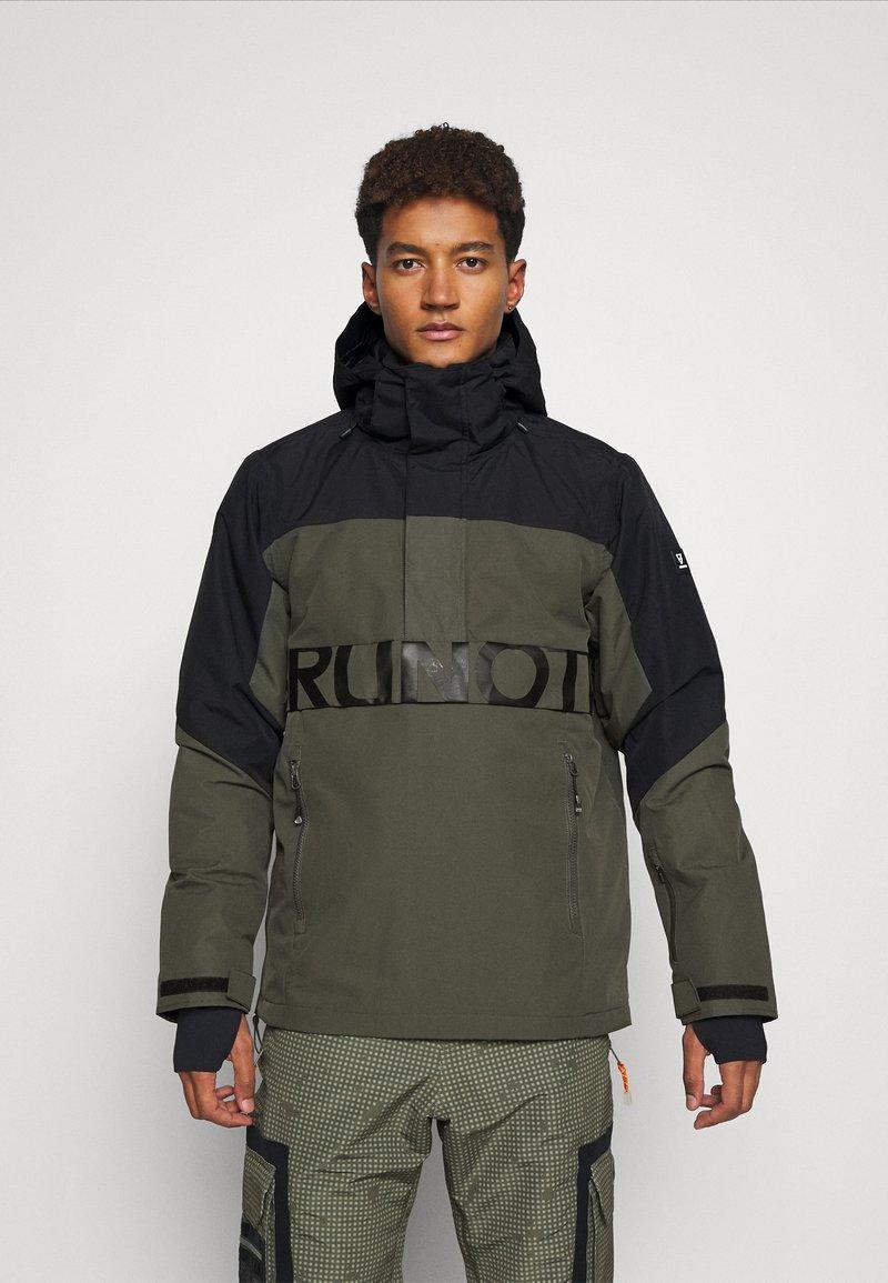 Brunotti - TRISTIN MENS JACKET - Snowboardová bunda - pine grey