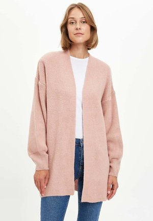 Strickjacke - pink