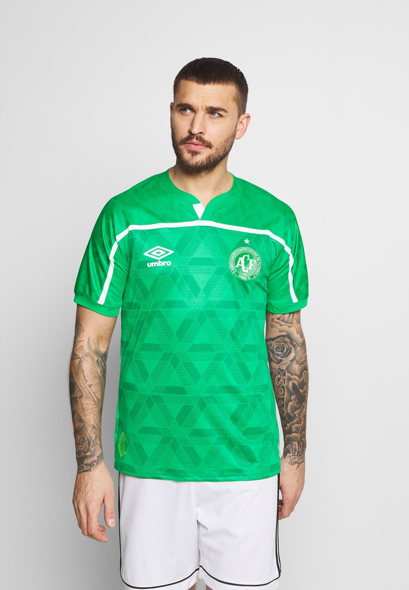 Umbro - CHAPOCOENSE HOME - Pelipaita - green/white