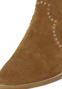 ICHI - IAFANN SUEDE BOOT - Ankle boots - thrunsh - 5