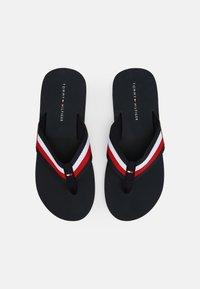Tommy Hilfiger - CORPORATE - T-bar sandals - desert sky - 3