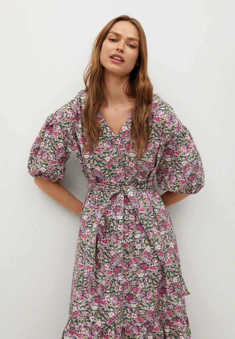 Mango - Maxi dress - rosa