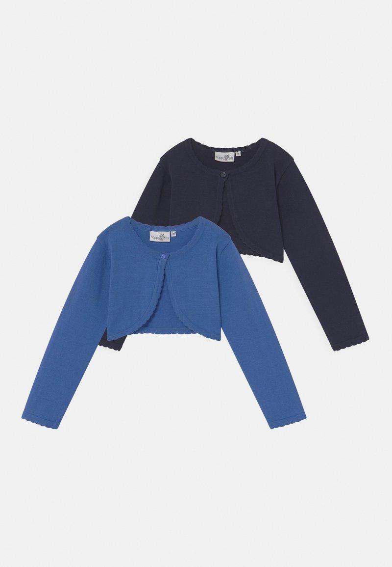 happy girls - BOLERO 2 PACK - Chaqueta de punto - navy blue