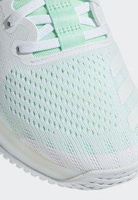 adidas Performance - CRAZYTRAIN ELITE - Treningssko - white, turquoise - 6