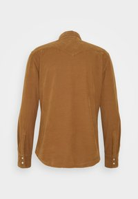 Levi's® - BARSTOW WESTERN SLIM - Skjorta - garment dye cord toasted coconut - 1