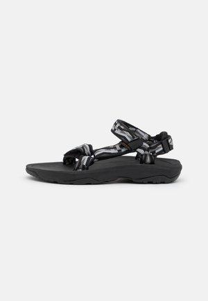 HURRICANE XLT 2 UNISEX - Walking sandals - toro black