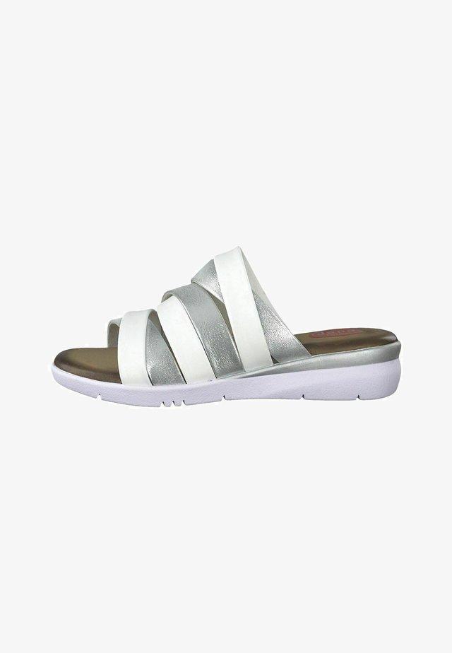Domácí obuv - silver comb