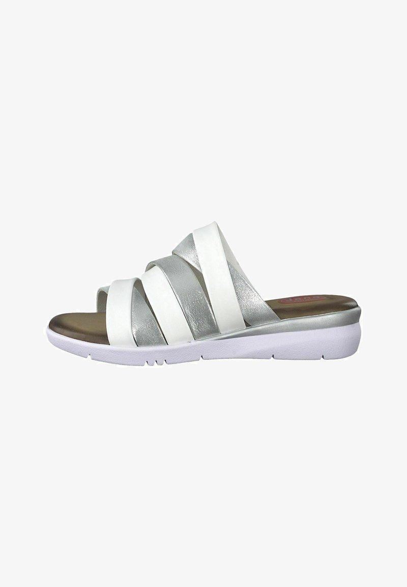 Jana - Slippers - silver comb
